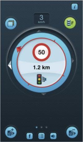 iSpeedCam Mobile App Screenshot