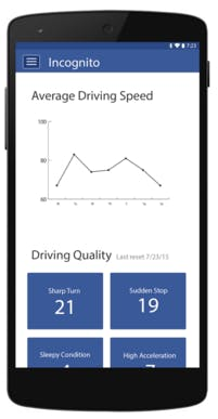 Hi-Fi Prototype of Data on Mobile