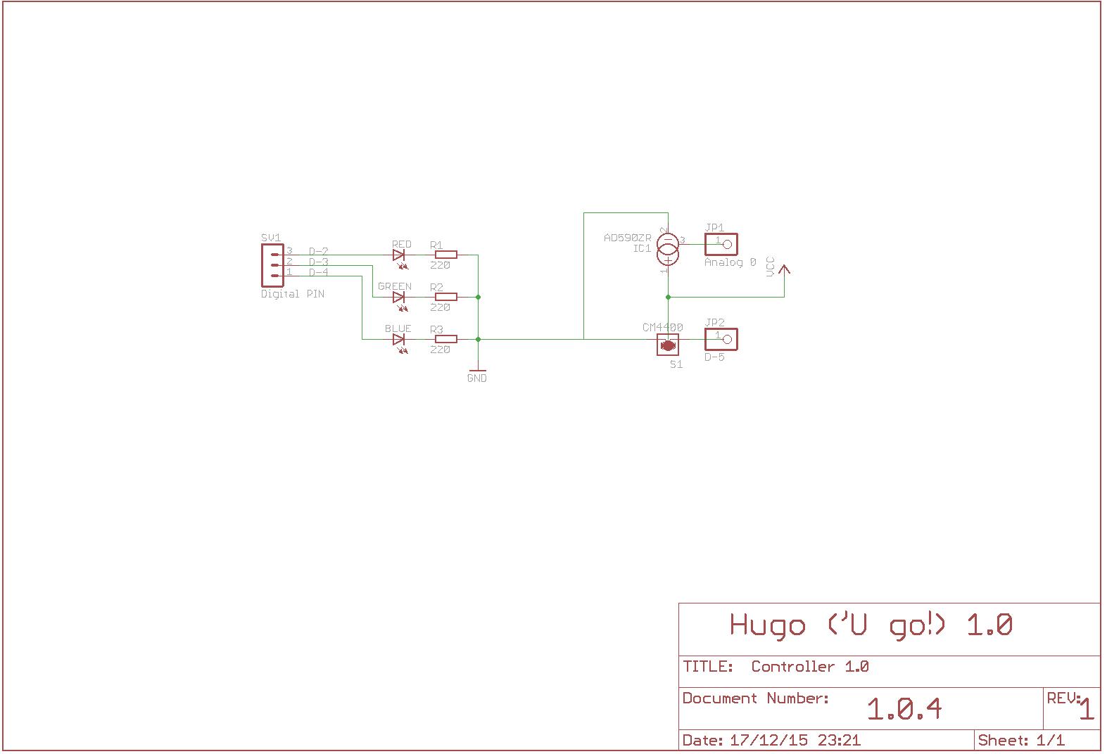 Hugo1.0 schematics