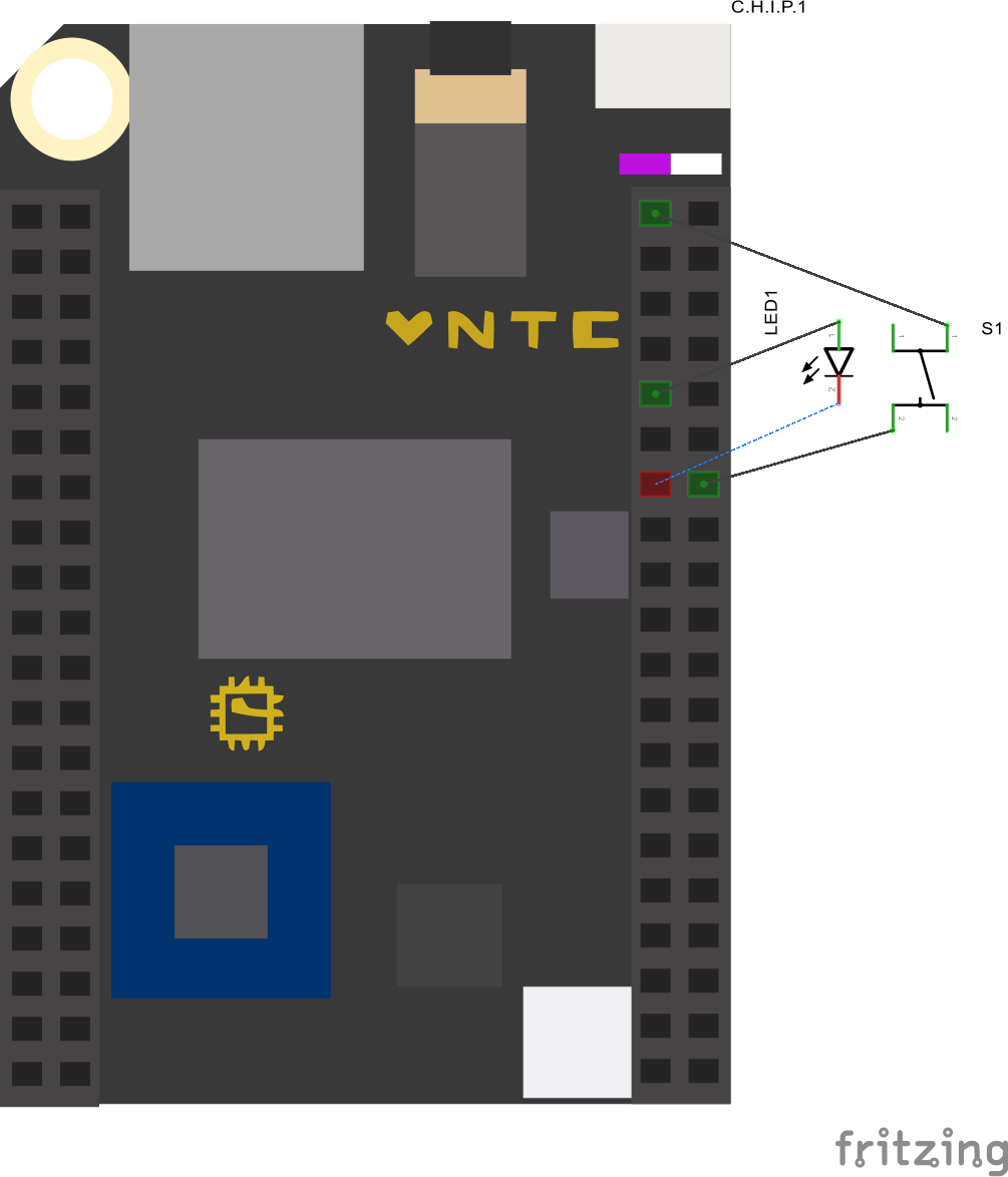 Chip led button schem