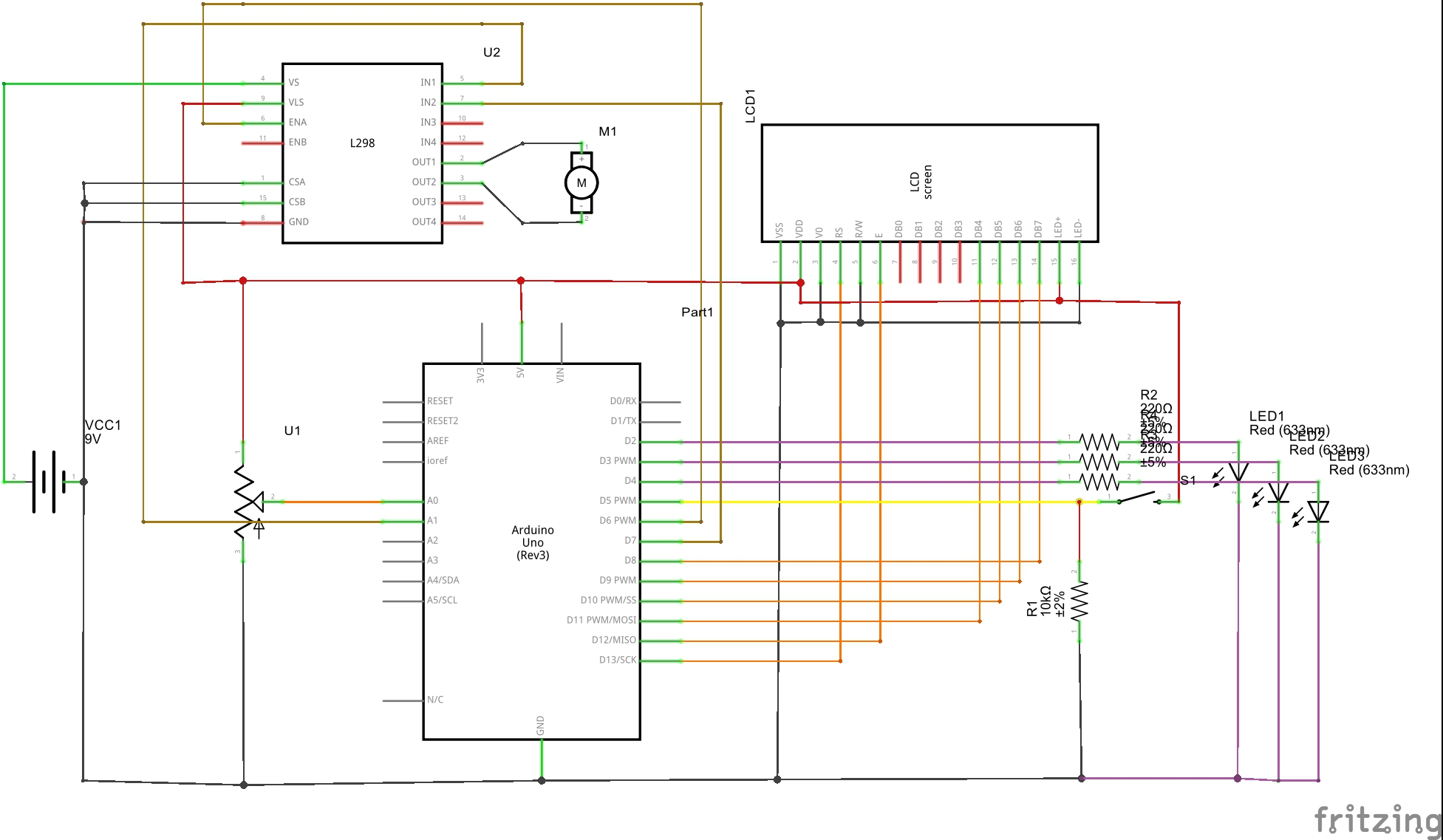 Control Speed And Direction Of Motor L298n H Bridge Diagram Along With Circuit Applications Untitled20sketch Schem