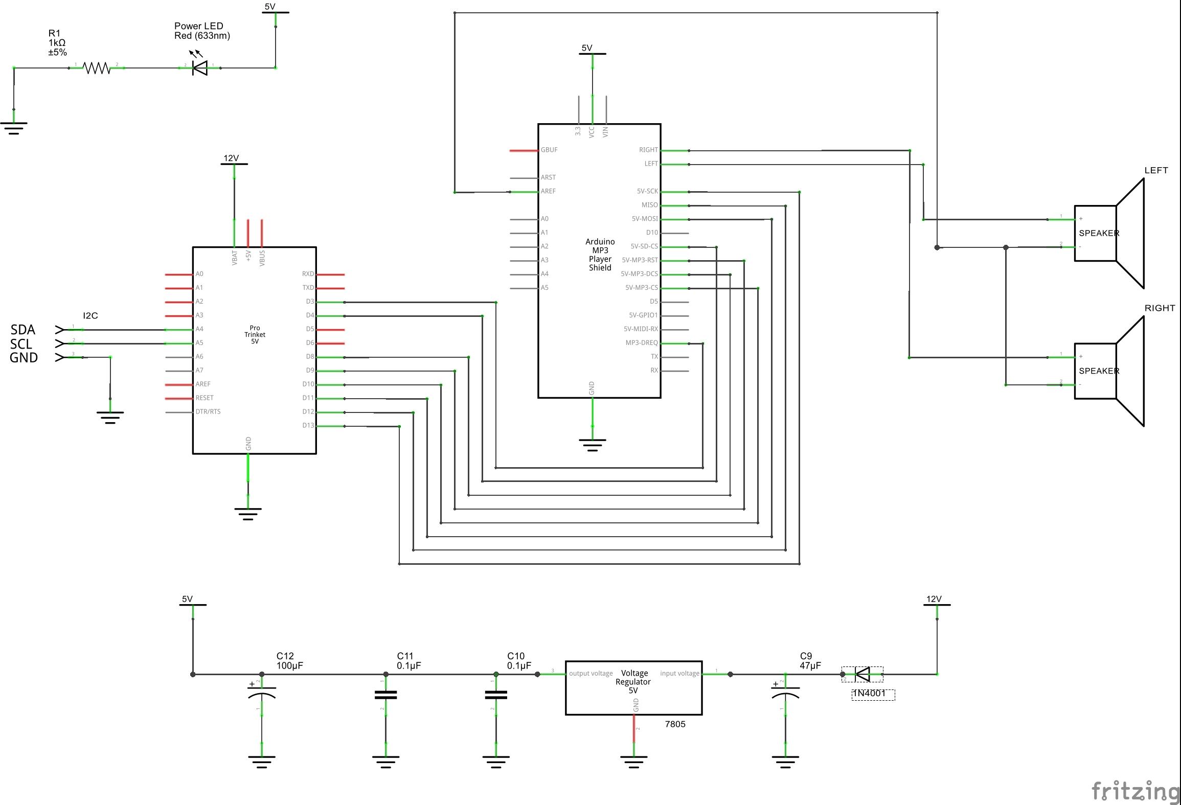 Sound controller schem
