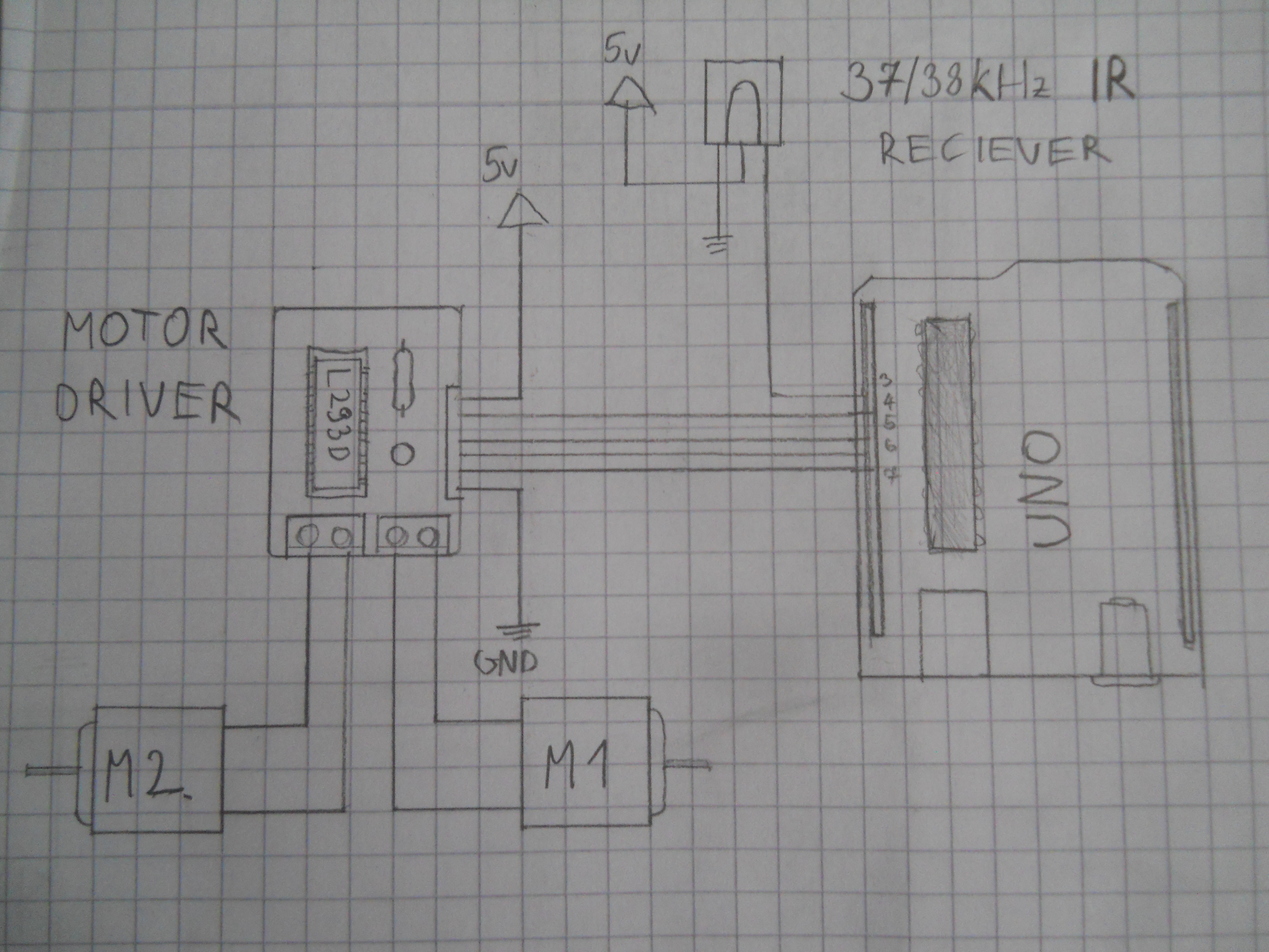 Use The Force Or Your Brainwaves Pc Controlled Robot Using Bluetooth Project With Circuit Diagram Schematic For Ir