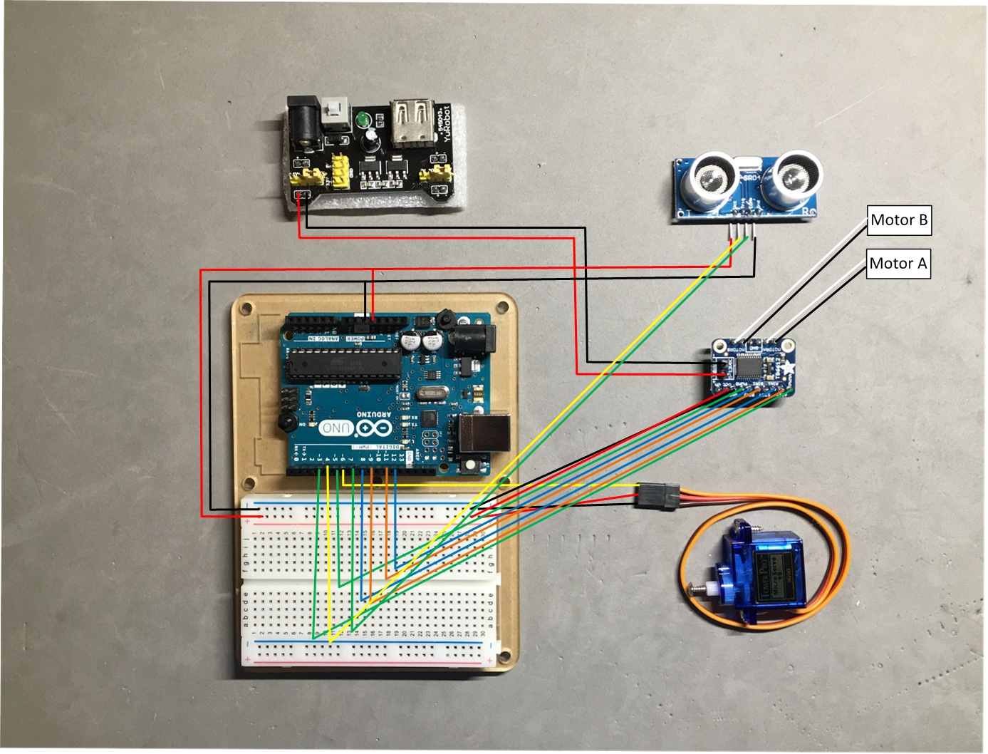 Schema Cablaggio Rj12 : Autobot using lego nxt motors and sensor hackster.io