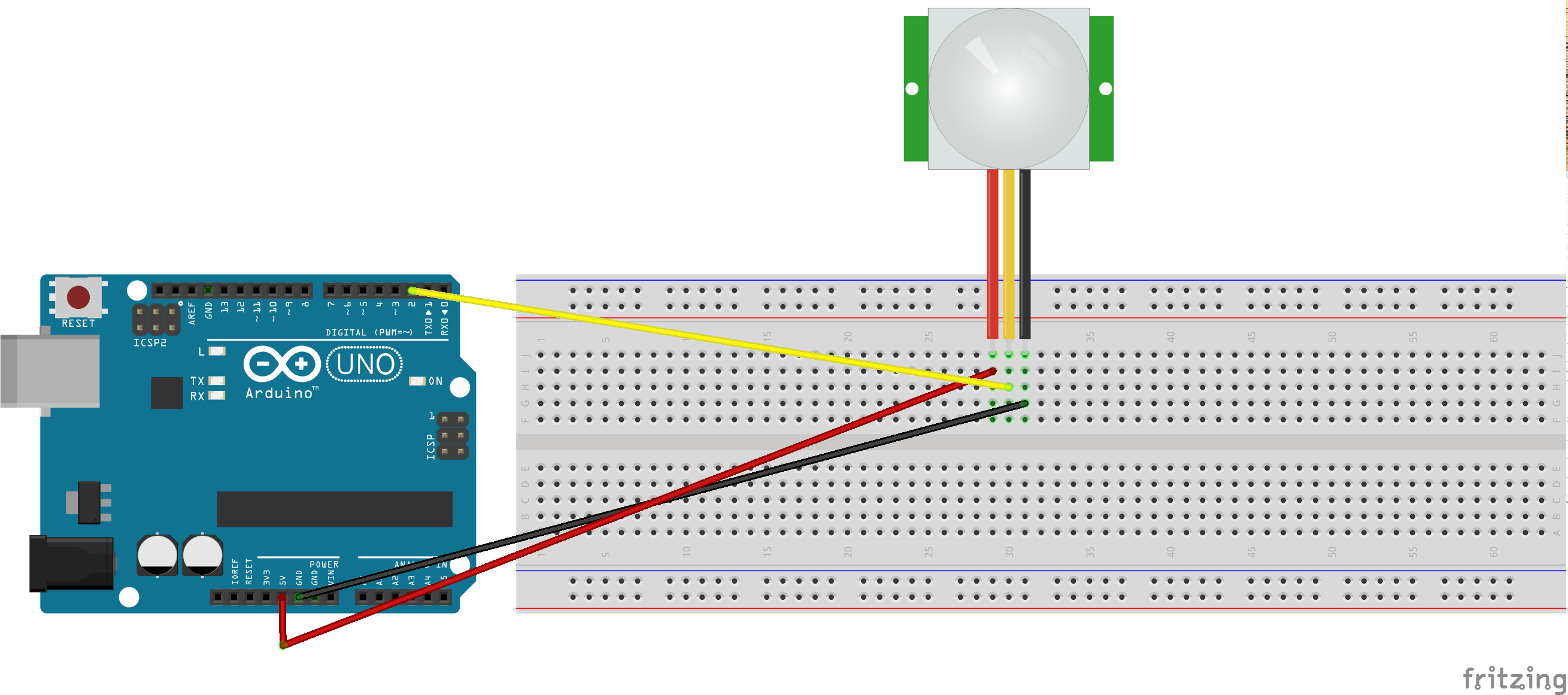 Pir sensor bb
