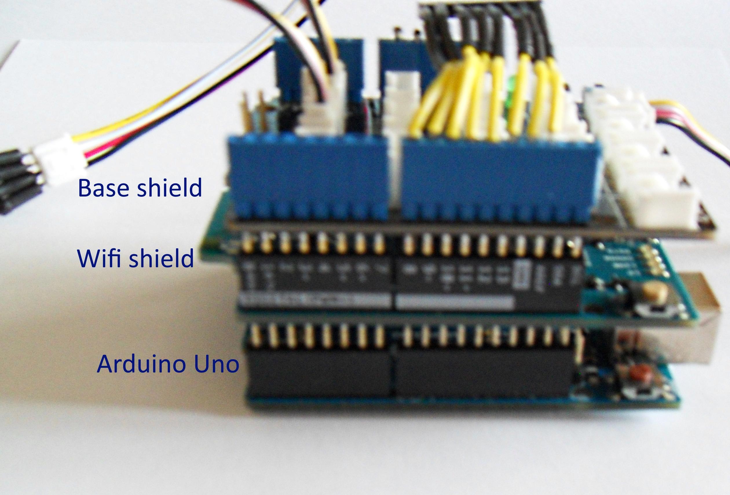 sparkfun wifi shield