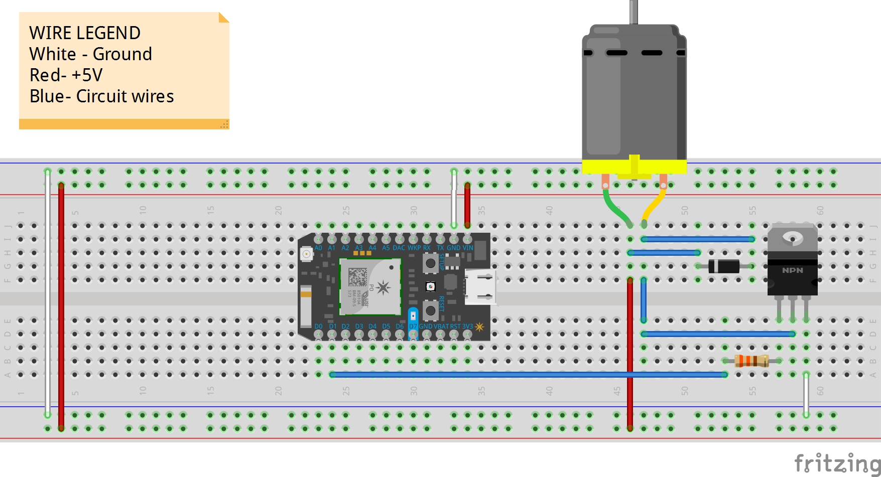 Particle Photon Motor Control - Hackster.io