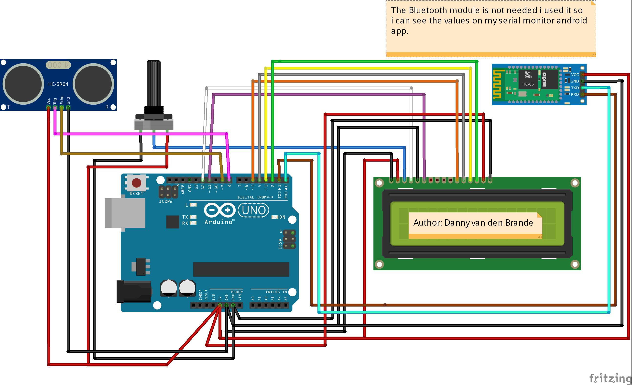 Arduino hc sr ultrasonic distance sensor hackster