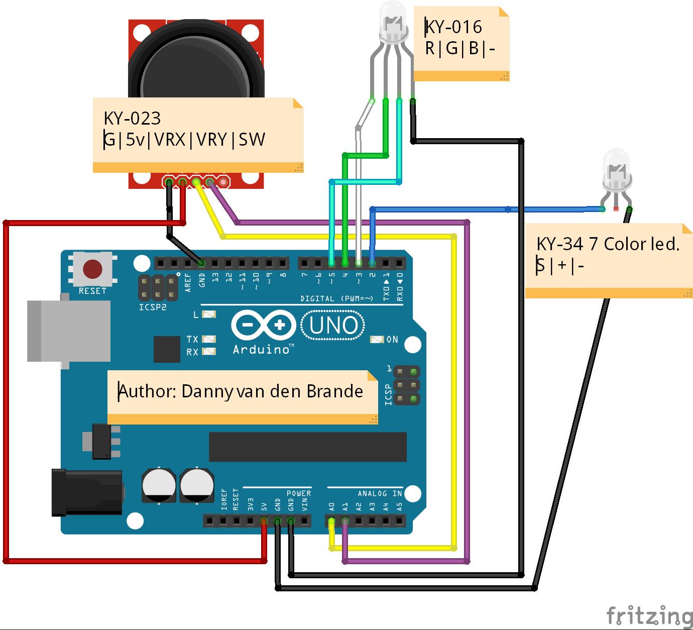Led Joystick Wiring Diagram - Circuit Connection Diagram •