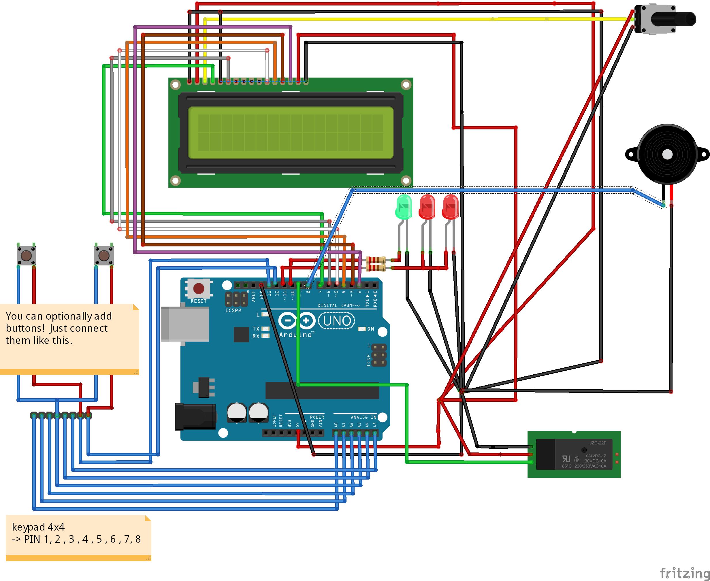 Arduino Arisoft Time Bomb Game Circuits Schematics