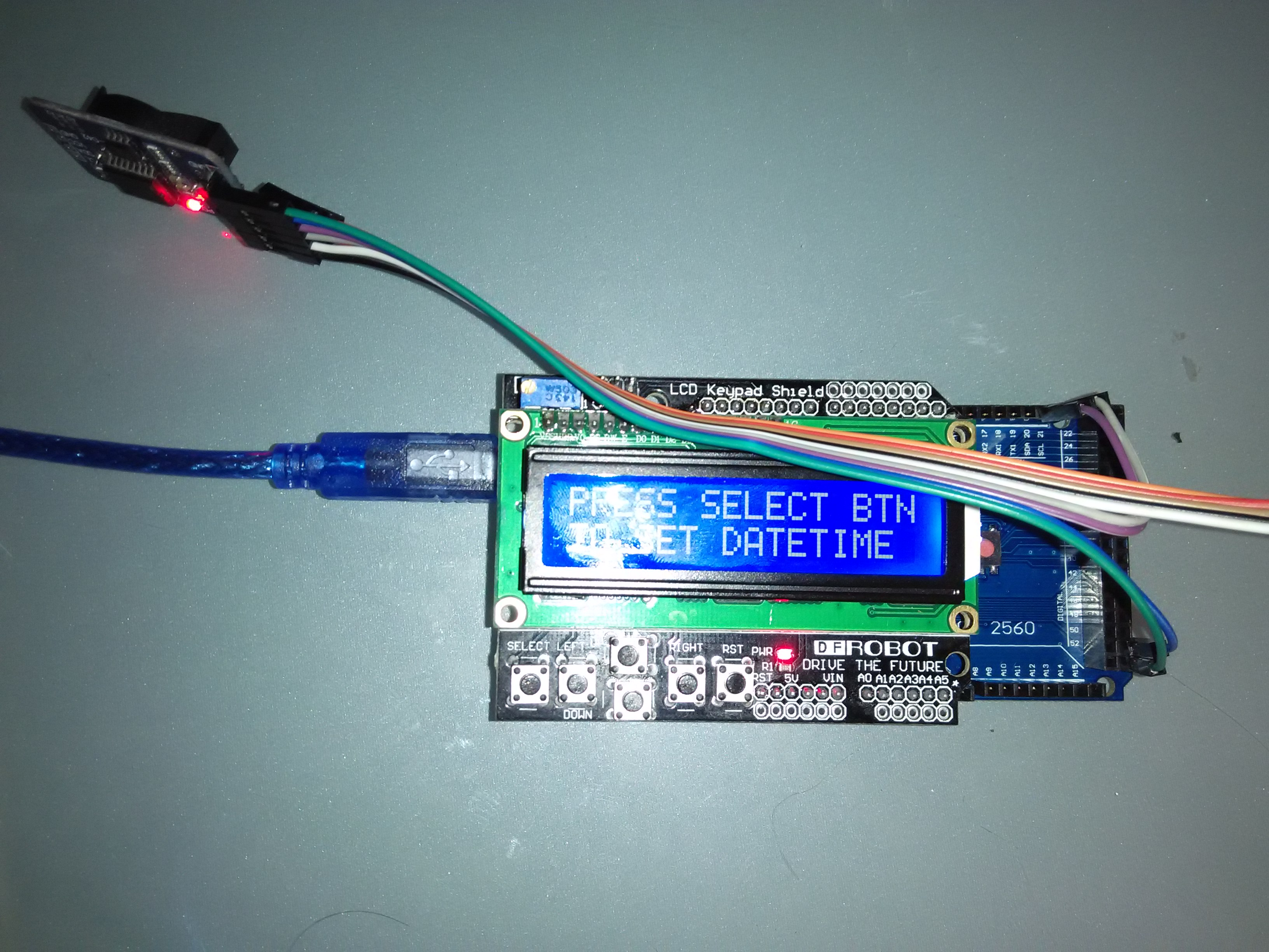 Lcd With Ds3231 Real Time Clock Module Simple Wiring Schematic Along Arduino Relay Diagram In Img 20160511 191651