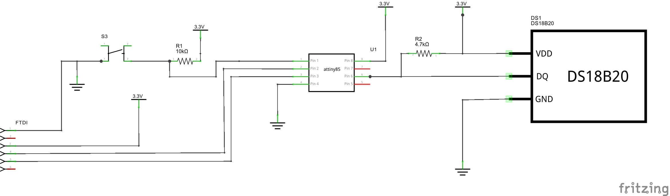 Easy Serial On The Attiny Wiring Diagram Usb To Rs232 Schem