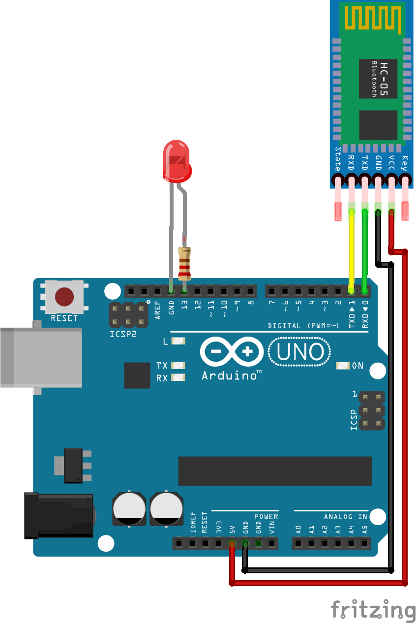 Arduino Bluetooth Basic Tutorial Hackster Io