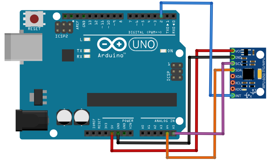 Getting started with IMU (6 DOF) motion sensor - Hackster.io