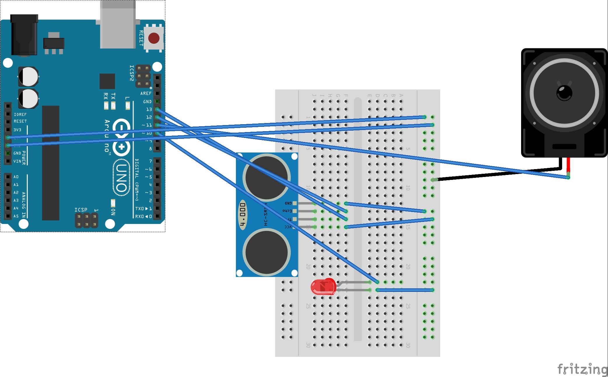 Proximity Detector Alarm - Hackster.io