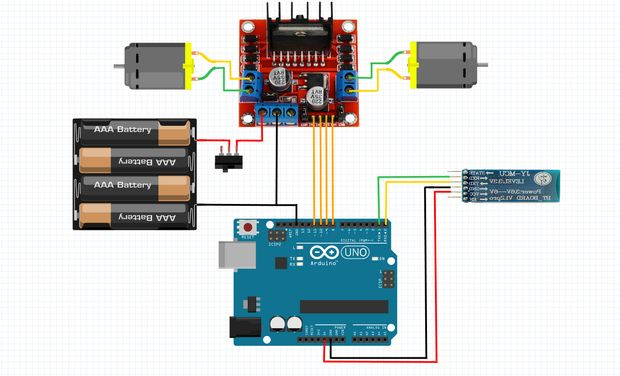 Turn your rc car to bluetooth rc car hackster schematics cheapraybanclubmaster Choice Image