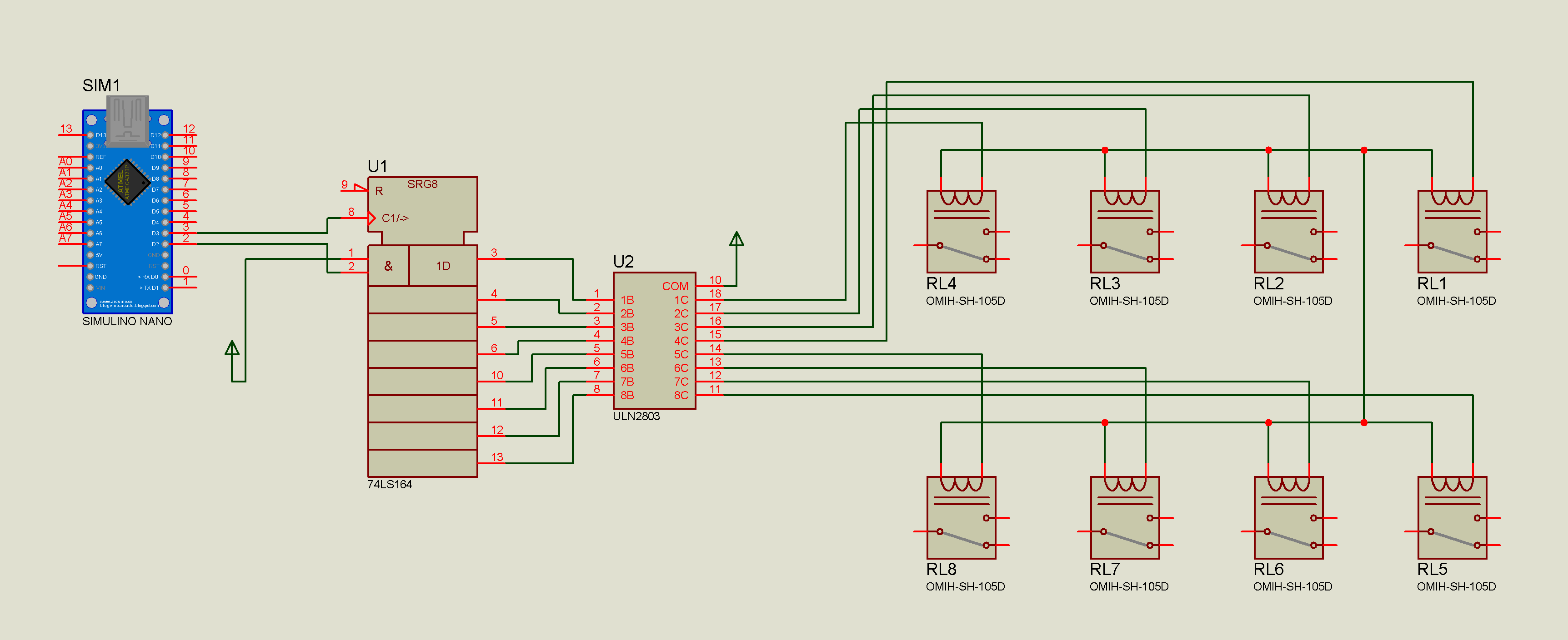 8 Pin Relay Schematic Arduino Largest Wiring Diagram Database 3pdt Circuit Nano Module Hackster Io Rh 11
