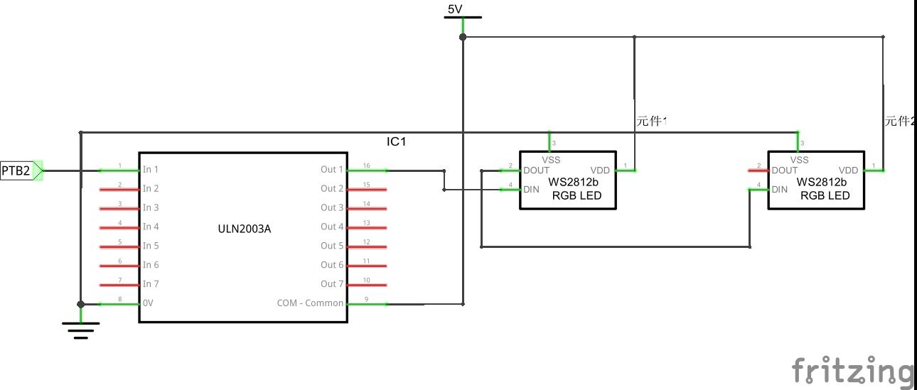 Flex-WS2812B - Texas Instruments Projects