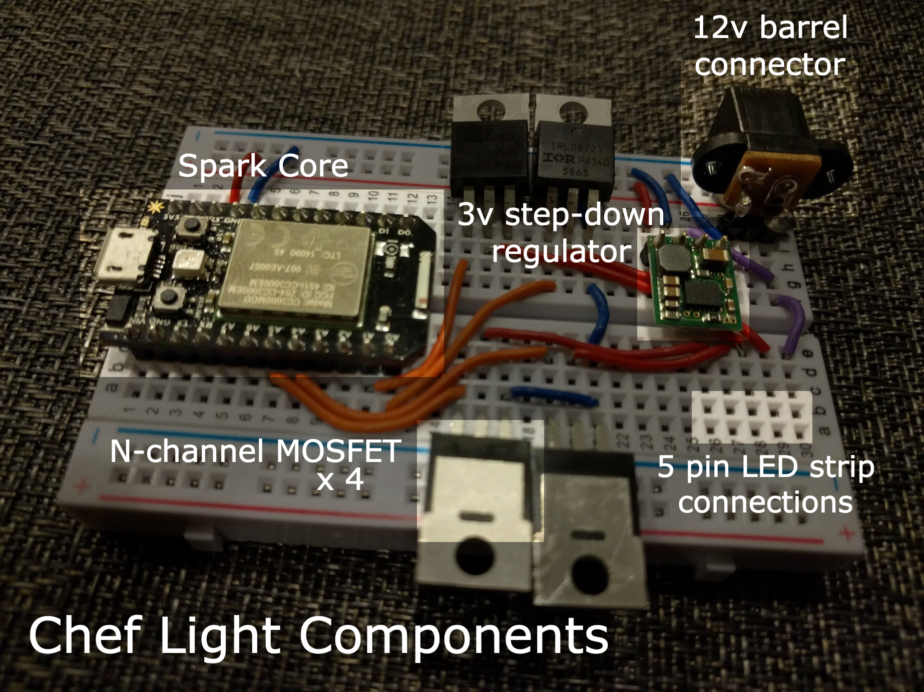 Chef light components2