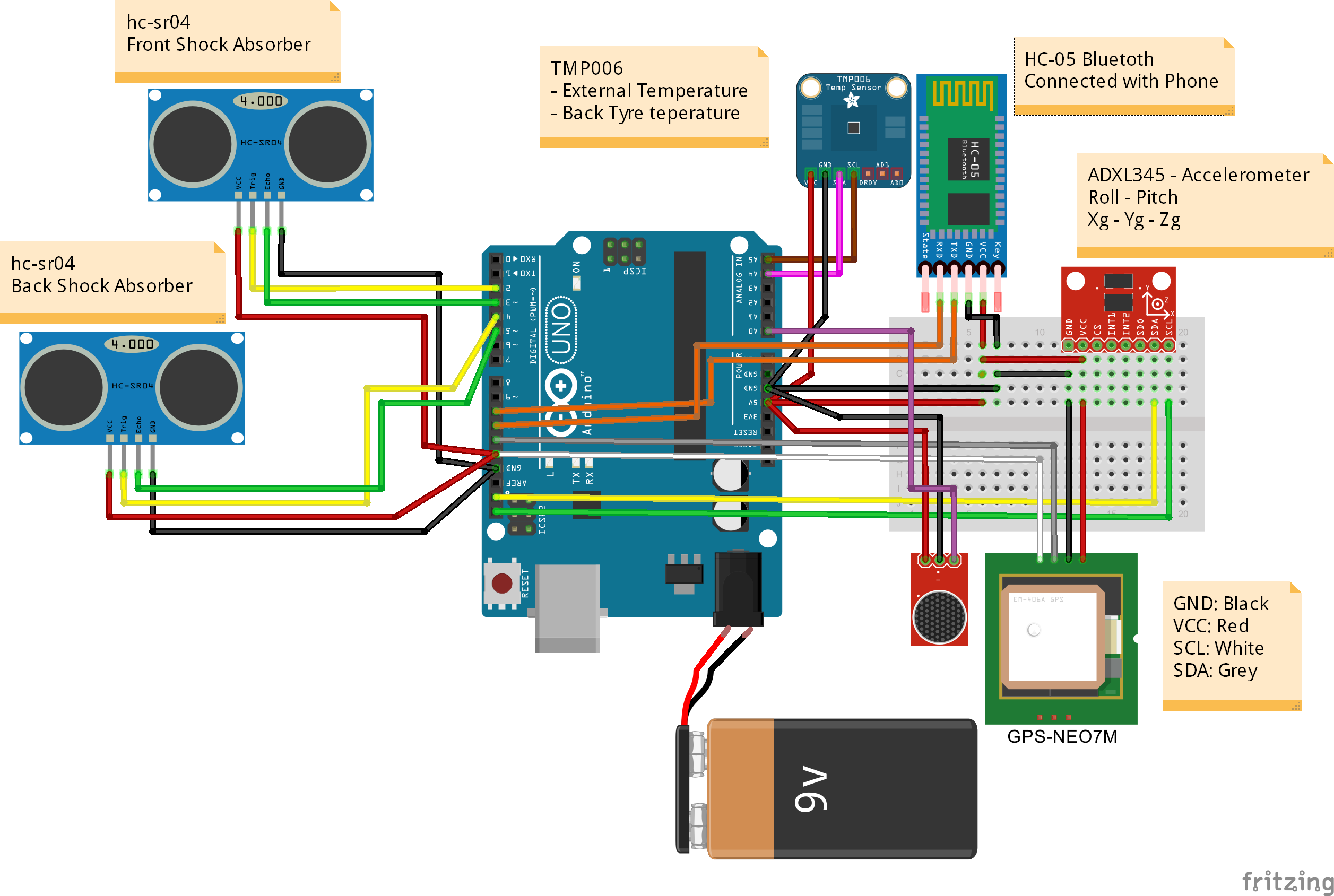 My Motorbike Telemetry Moto G Circuit Diagram Fritzing Project