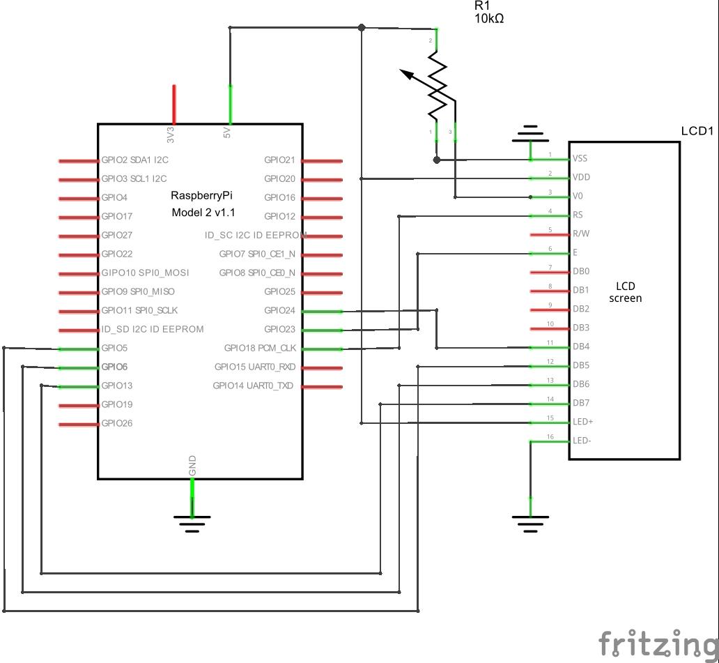Basic LCD 16x2 - Hackster io
