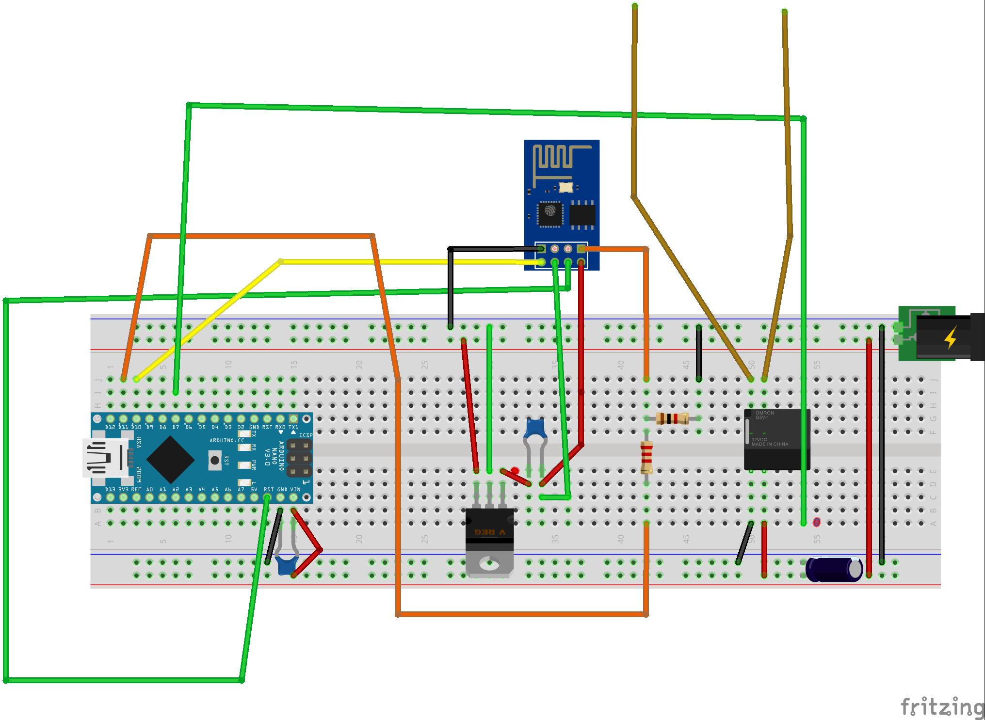 Iot Arduino Esp Garage Door Opener Ud Hackster Io