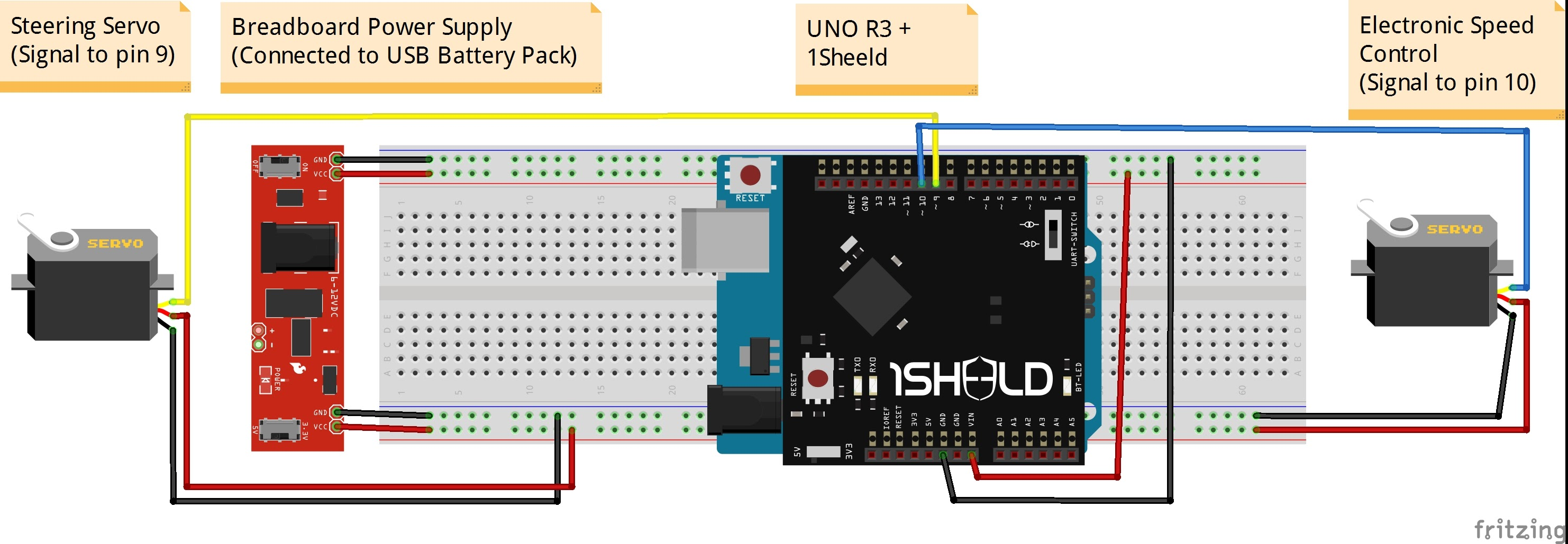R/C Traxxas Slash with Arduino and 1Sheeld - Hackster io