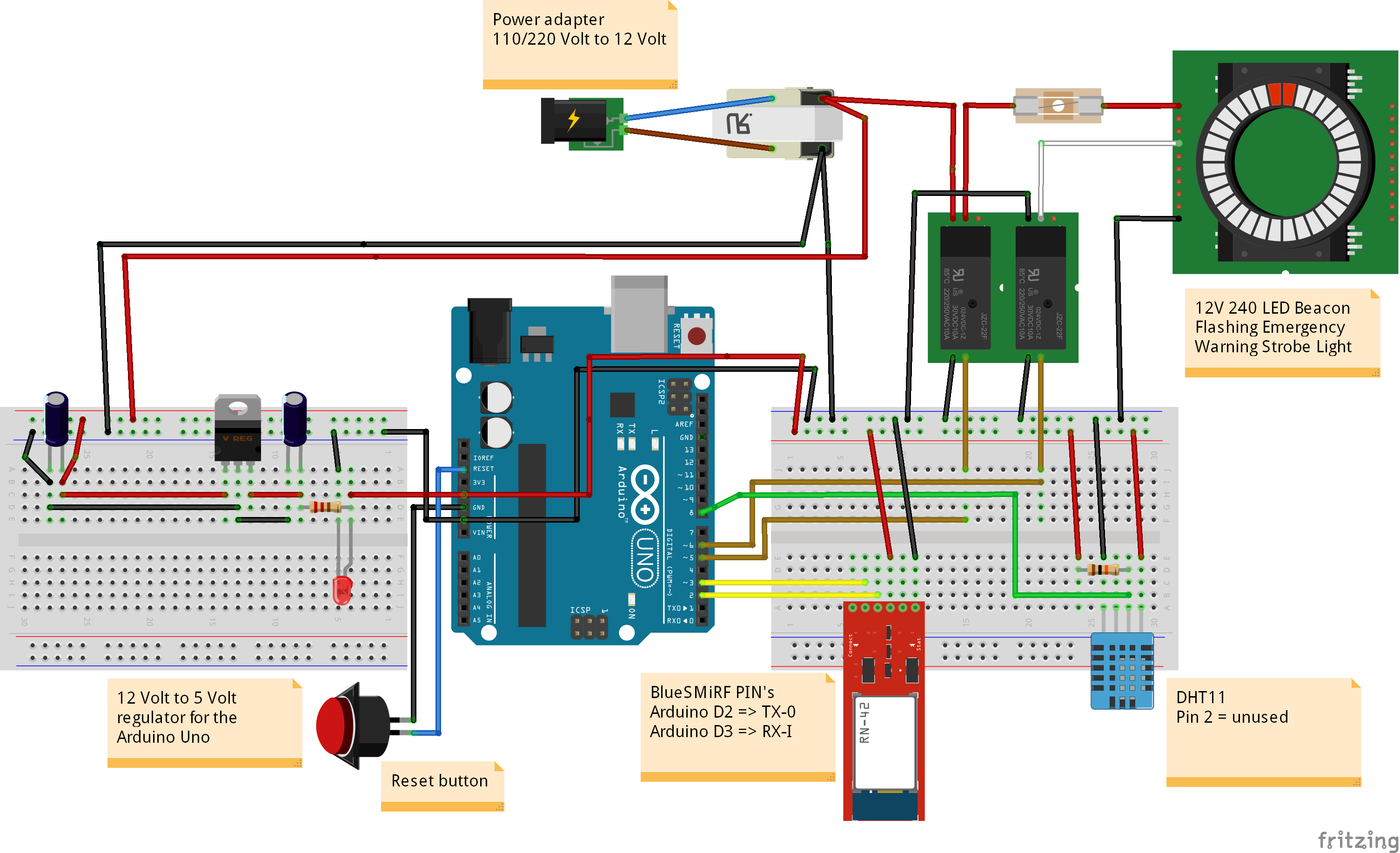 Bluetooth Tfs Build Led Strobe Light Wiring Diagram For 12 Volt Emergency Teambuildled Bb2