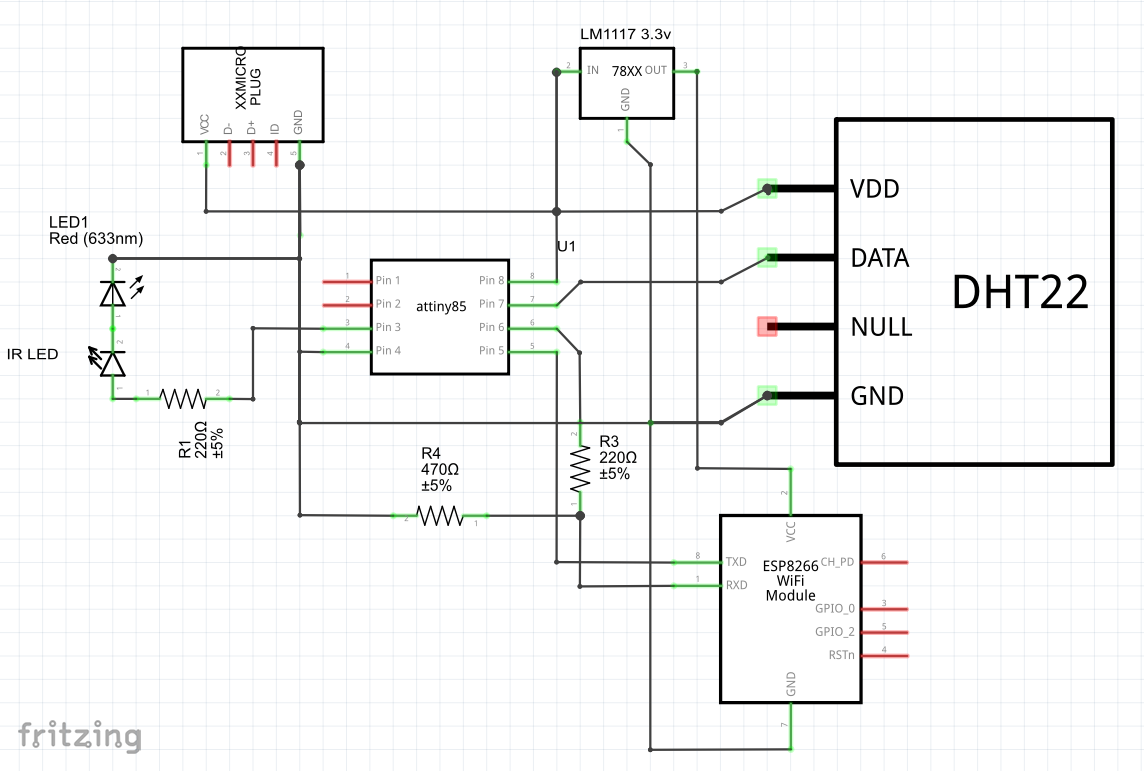 Ir Controller For Air Conditioner The Current Sensor Circuit Sends A Signal Back To Schematics